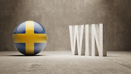 Sweden  Win Concept photo