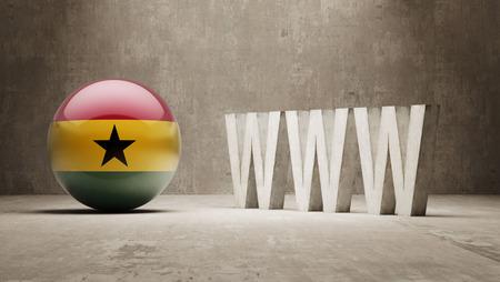 url virtual: Ghana WWW Concept