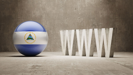 url virtual: Nicaragua WWW Concept