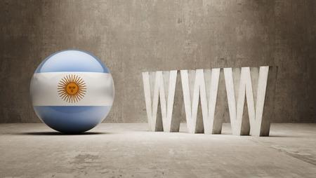 url virtual: Argentina  WWW Concept