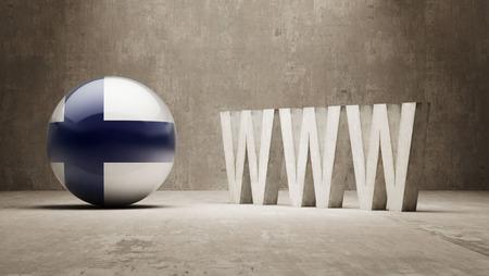 url virtual: Finland  WWW Concept