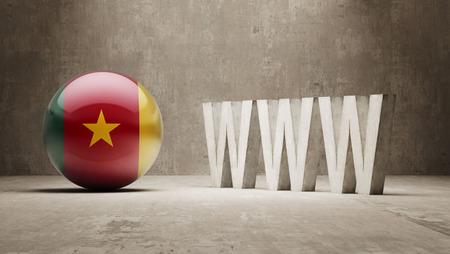url virtual: Cameroon WWW Concept