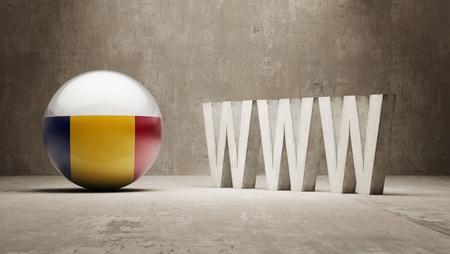 url virtual: Romania   WWW Concept