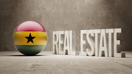 Ghana High Resolution Real Estate Concept photo