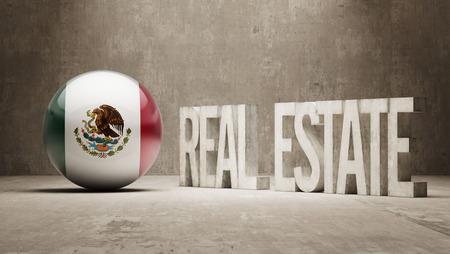 possession: Mexico  Real Estate Concept Stock Photo