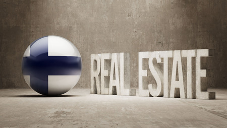possession: Finland  Real Estate Concept