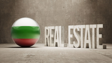 homeowner: Bulgaria   Real Estate Concept Stock Photo