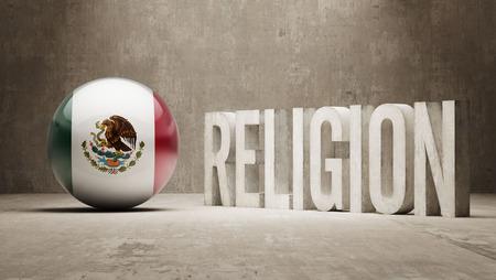 worshipper: Mexico   Religion Concept