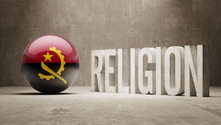 worshipper: Angola Religion Concept Stock Photo