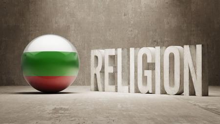worshipper: Bulgaria   Religion Concept Stock Photo