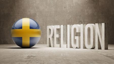 worshipper: Sweden   Religion Concept Stock Photo