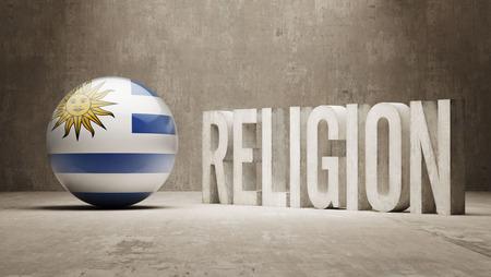 worshipper: Uruguay Religion Concept Stock Photo