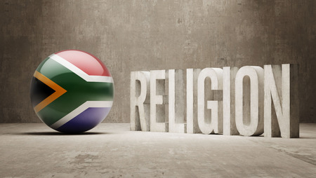 worshipper: South Africa   Religion Concept Stock Photo