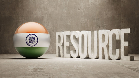 India   Resource Concept photo