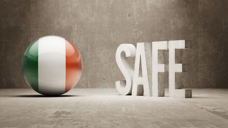 cautionary: Ireland   Safe Concept