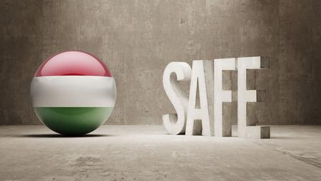 cautionary: Hungary Safe Concept