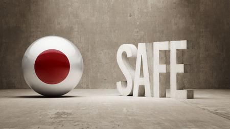 cautionary: Japan  Safe Concept