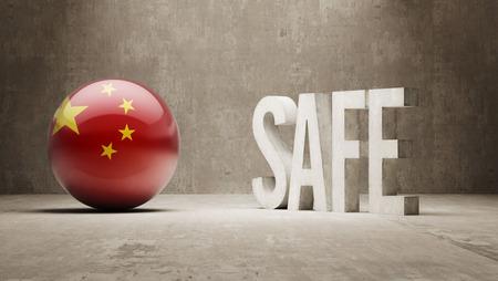 cautionary: China   Safe Concept