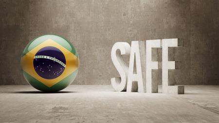 cautionary: Brazil  Safe Concept