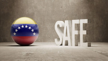 safely: Venezuela   Safe Concept