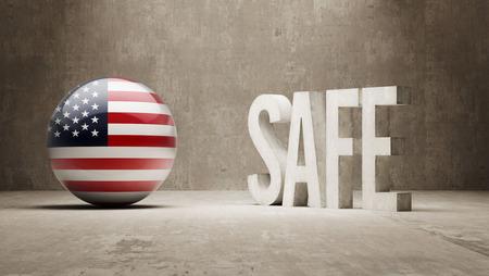 cautionary: United States   Safe Concept