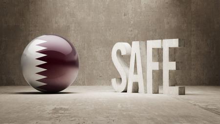 cautionary: Qatar  Safe Concept