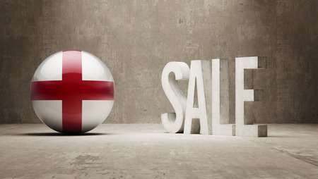 England   Sale Concept photo