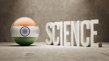 India  Science Concept photo