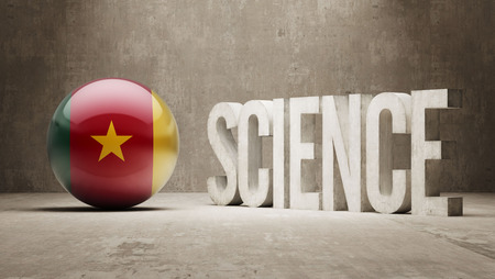 cameroon: Cameroon  Science Concept Stock Photo