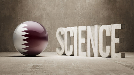Qatar  Science Concept photo