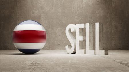 costa rica: Costa Rica Sell Concept