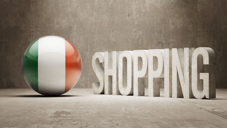 consumerist: Ireland   Shopping concept