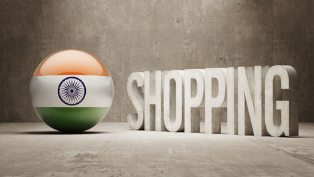 India    Shopping concept photo