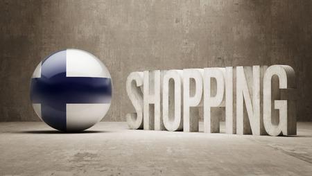 consumerist: Finland Shopping concept