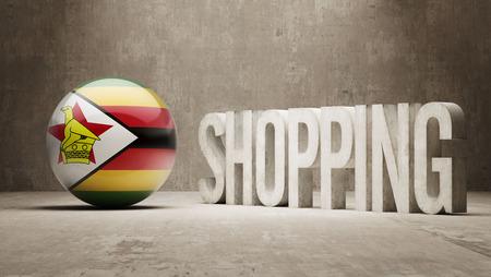 zimbabwe: Zimbabwe  Shopping concept