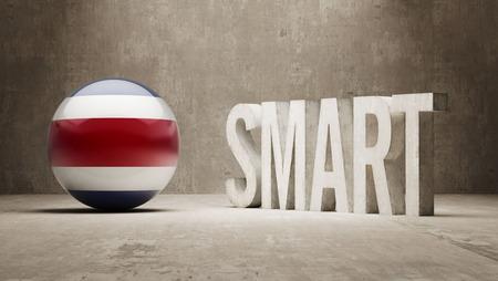 costa rica: Costa Rica   Smart Concept