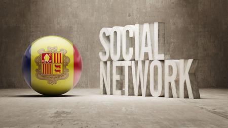 andorra: Andorra  Social Network