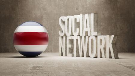 costa: Costa Rica  Social Network