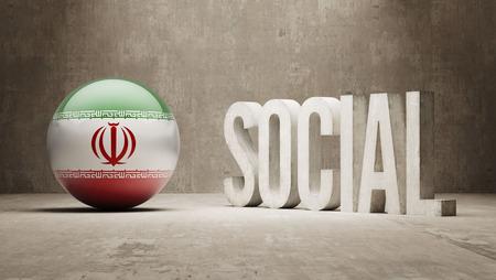 societal: Iran  Social Concept Stock Photo