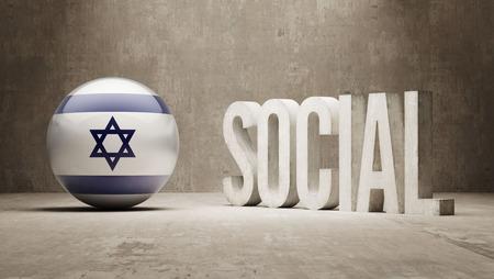 societal: Israel Social Concept Stock Photo