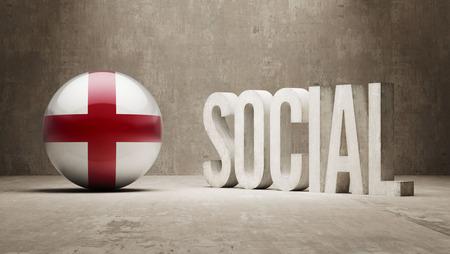 societal: England   Social Concept Stock Photo