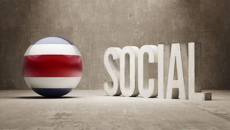 convivial: Costa Rica   Social Concept