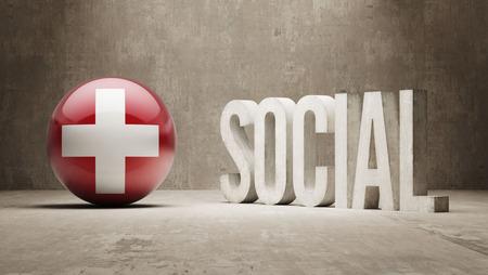 societal: Switzerland Social Concept