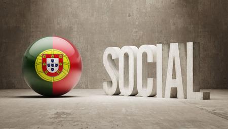 societal: Portugal   Social Concept Stock Photo