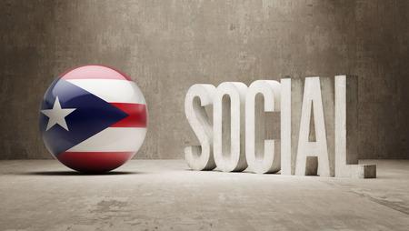 societal: Puerto Rico High Social Concept
