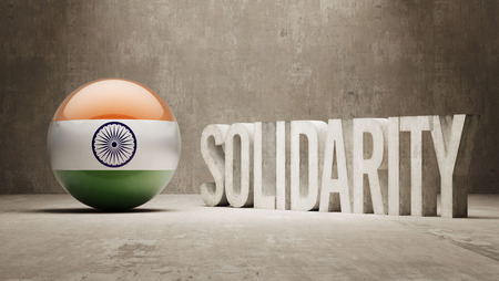 India  Solidarity Concept photo