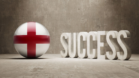 success concept: Inghilterra Success Concept Archivio Fotografico
