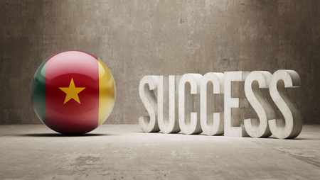 success concept: Camerun Success Concept
