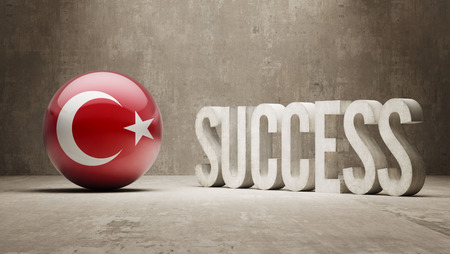 success concept: Turchia Success Concept