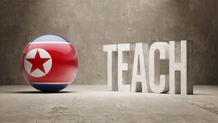 north korea: North Korea  Teach Concept